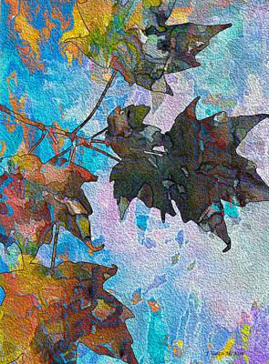 Autumn Quilt Poster by Jo-Anne Gazo-McKim