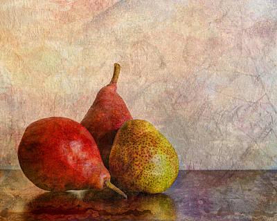 Autumn Trio  Poster by Heidi Smith