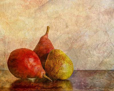Autumn Trio  II Poster by Heidi Smith