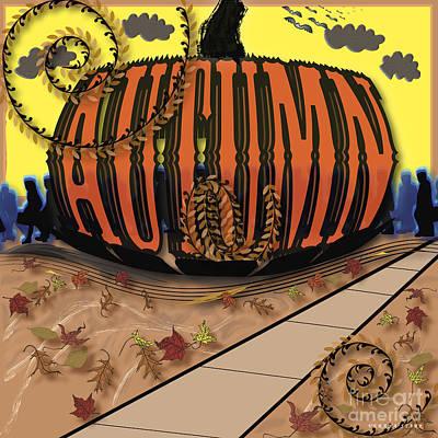 Autumn Poster by Verana Stark