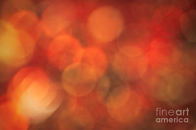 Autumnal Amber Poster by Jan Bickerton