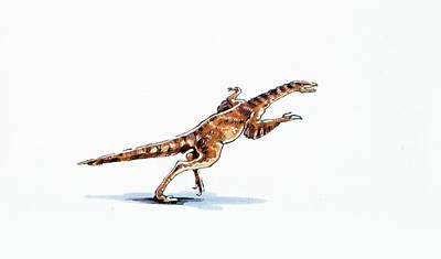 Avimimus Dinosaur Poster by Deagostini/uig