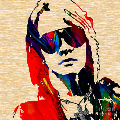Axl Roxe Collection Poster by Marvin Blaine