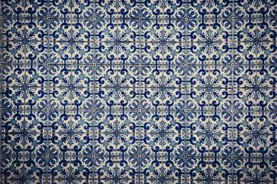 Azulejo Azul Poster by Maria Conceicao Pires - Lightfactory