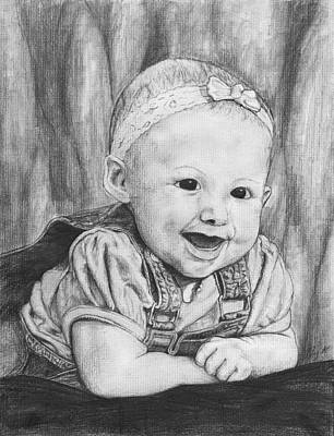 Baby Kallie Poster by Jay Alldredge