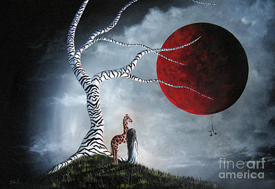 Original Surreal Paintings By Erback Poster by Shawna Erback