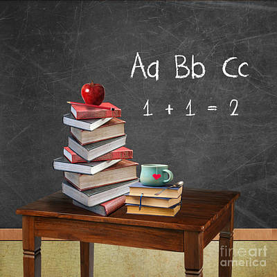Back To School Poster by Juli Scalzi