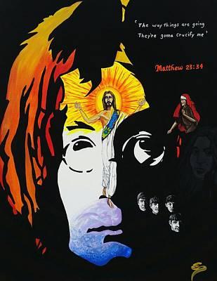 Ballad Of Crucify Poster by Edward Pebworth