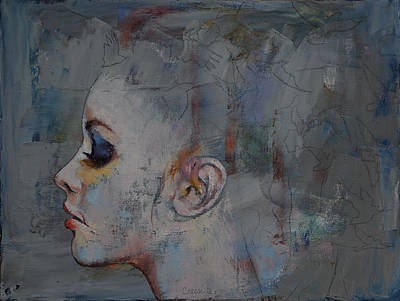 Ballerina Poster by Michael Creese