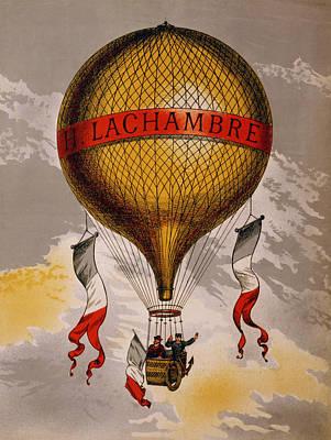 Balloon Poster by Georgia Fowler