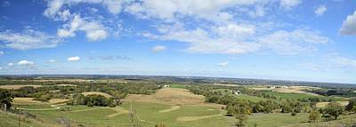 Balltown Panorama 2 Poster by Bonfire Photography