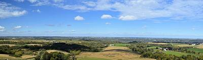 Balltown Panorama Poster by Bonfire Photography