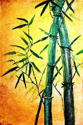 Bamboo Magic Poster by Nirdesha Munasinghe