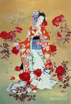 Bara Poster by Haruyo Morita