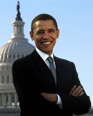 Barack Hussein Obama Poster by John Vito Figorito