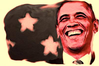 Barak Obama Poster by Parvez Sayed
