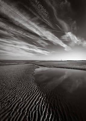 Barkby Beach 1 Poster by Dave Bowman