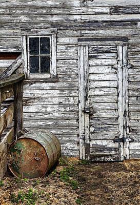 Barn Door Poster by Armando Picciotto