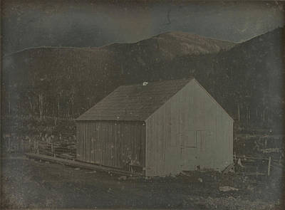 Barn In Harts Location, New Hampshire Dr. Samuel A. Bemis Poster by Litz Collection
