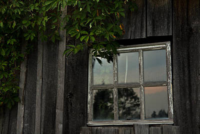 Barn Window Poster by Shane Holsclaw