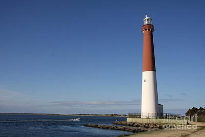Barnegat Inlet And Light Poster by Christiane Schulze Art And Photography