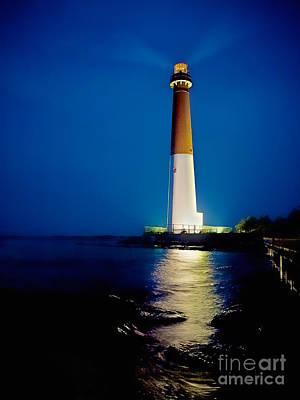 Barnegat Lighthouse Poster by Mark Miller