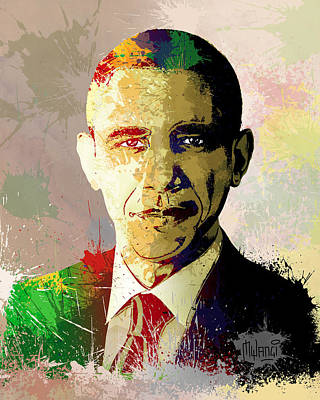 Barrack Obama Poster by Anthony Mwangi