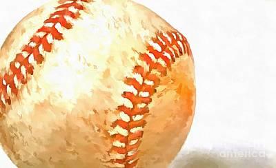 Baseball Poster by Edward Fielding