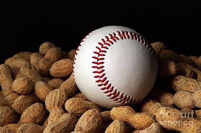 Baseball Season Poster by Andee Design
