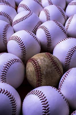 Baseballs  Poster by Garry Gay