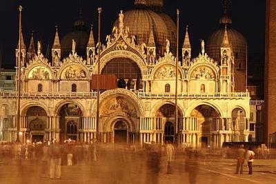 Basilica Di San Marco Poster by George Buxbaum