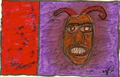 Basquiat - Demon 11-004 Poster by Mario Perron