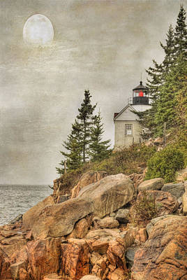 Bass Harbor Head Lighthouse. Acadia National Park Poster by Juli Scalzi