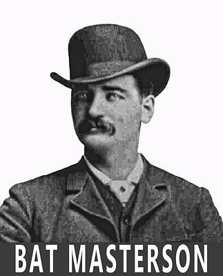 Bat Masterson Lawman Poster by Daniel Hagerman