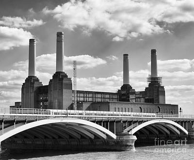 Battersea Power Station London Poster by Philip Pound