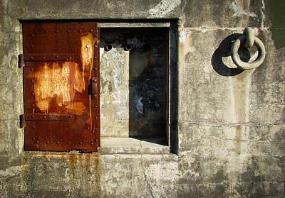 Battery Doors Viii Poster by Ronda Broatch