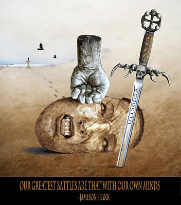 Battle Poster by Rick Mosher
