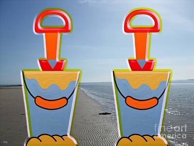 Beach 4 Poster by Patrick J Murphy