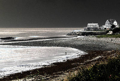 Beach Comber Poster by Ron White