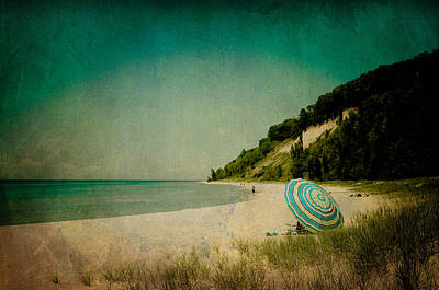 Beach Day Poster by Joy StClaire