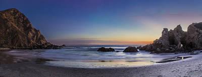 Beach Oasis Poster by Jeremy Jensen