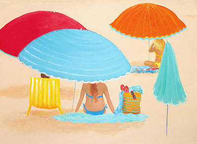 Beach Style Poster by Jan Matson
