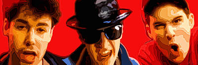 Beastie Boys Poster by Gordon Dean II