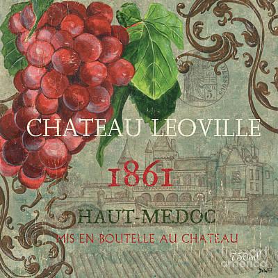 Beaujolais Nouveau 1 Poster by Debbie DeWitt
