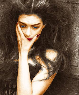 Beautiful Melancholy 4 Poster by Tony Rubino