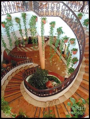Beautiful Spiral Stairs Poster by John Malone