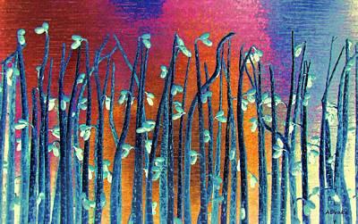 Beautiful Weeds On Venus Poster by Alec Drake