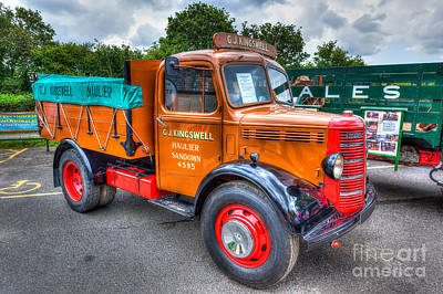 Bedford Dropside Truck Poster by English Landscapes