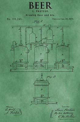 Beer Brewing Apparatus Poster by Dan Sproul