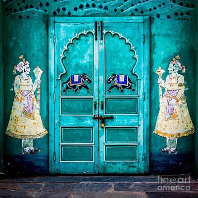 Behind The Green Door Poster by Catherine Arnas